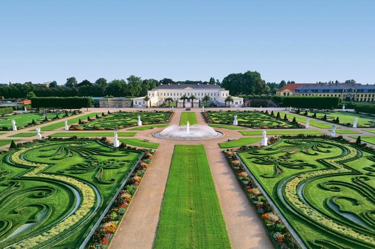 Herrenhäuser Gärten Hannover Living