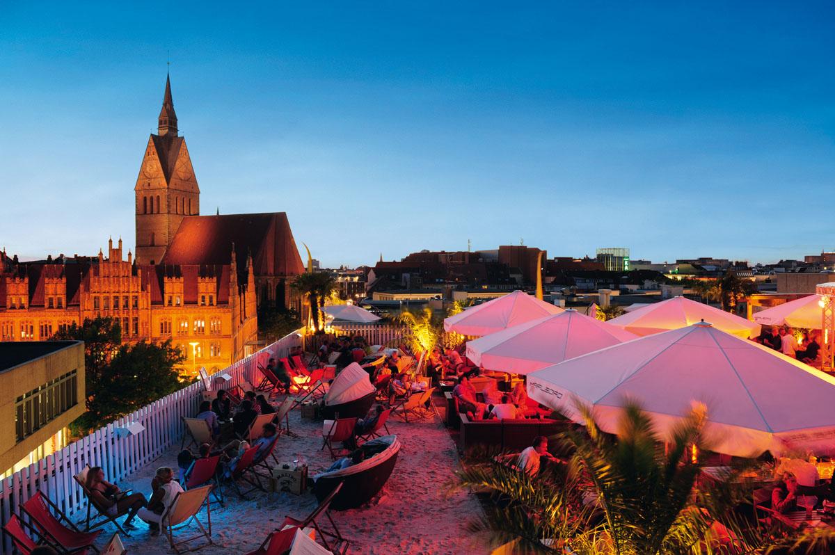 Schöne Aussichten: 360° Beachclub Hannover - Hannover Living