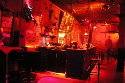 Das Cafe Glocksee beim Ruby Tuesday von innen