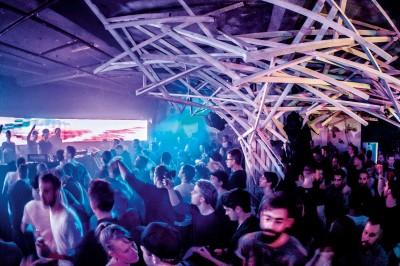 Der Club Weidendamm in Hannover von innen