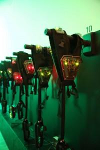 Lasertagausrüstung