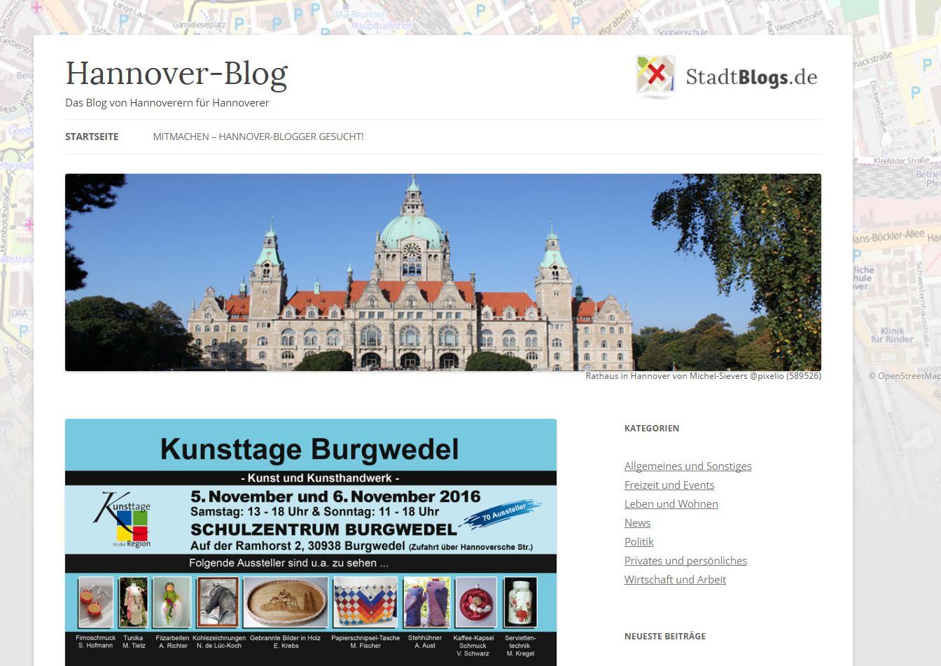 Hannover Blog