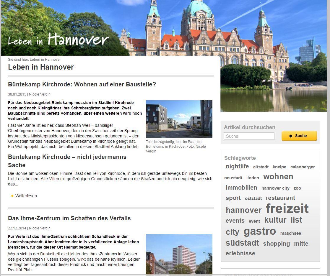 Leben in Hannover