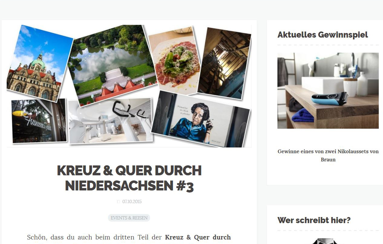 Männerstyle Homepage