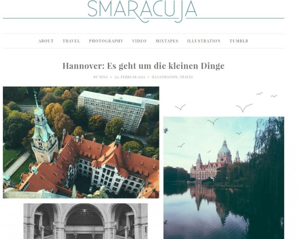 Smaracuja Website
