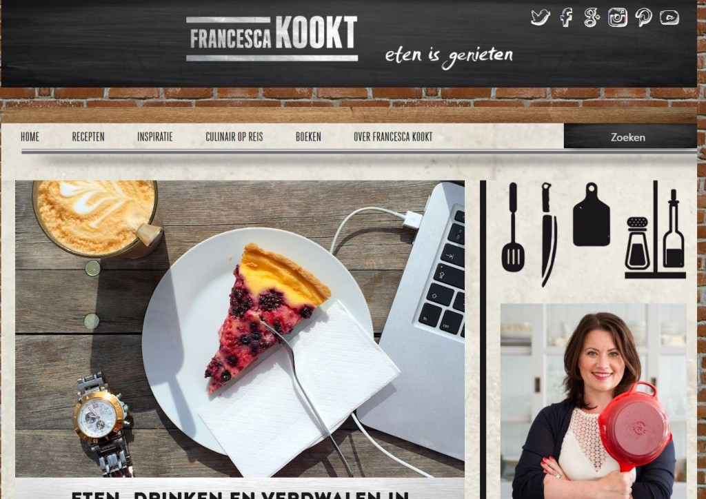 Francesca Kookt Website