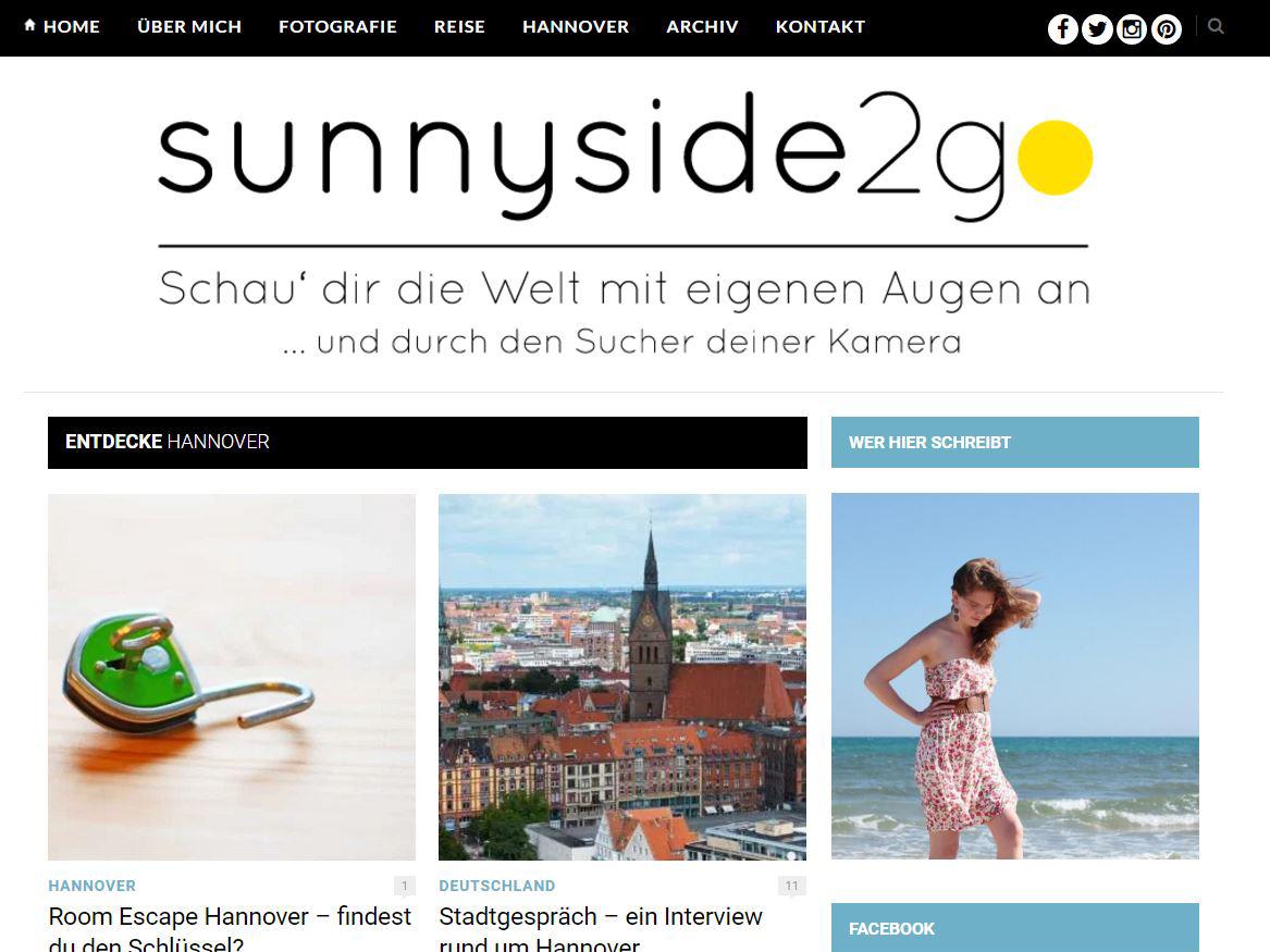 Sunnyside Website