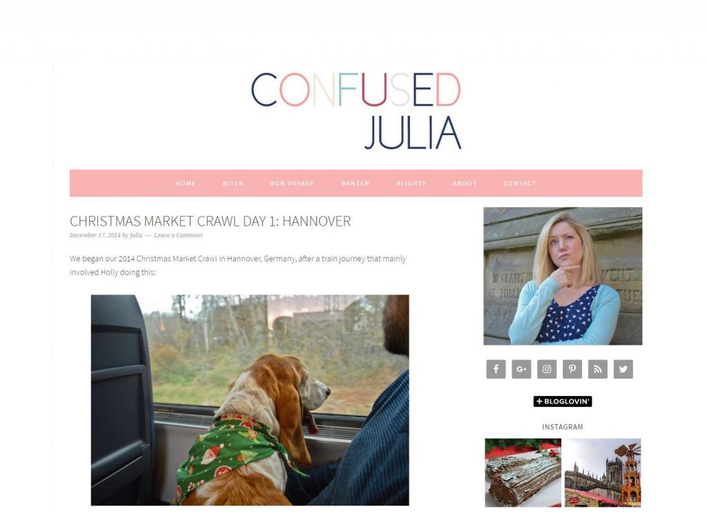 Confused Julia Website