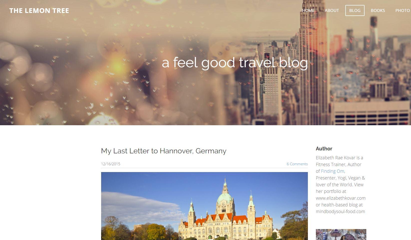 The Lemon Tree Website