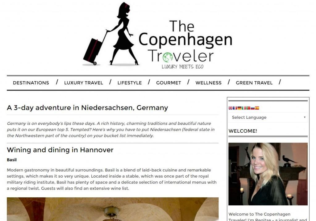 The Copenhagen Traveler Website