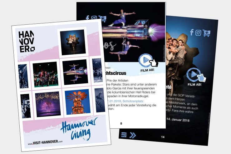 "Neu: Digitales eMagazin ""Hannover Living""!"