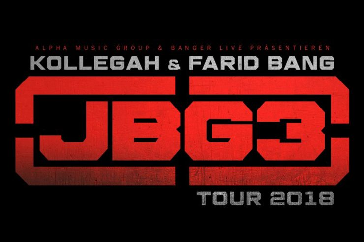 "Kollegah & Farid Bang – ""JBG 3 – Tour"" | 15.01.2018"