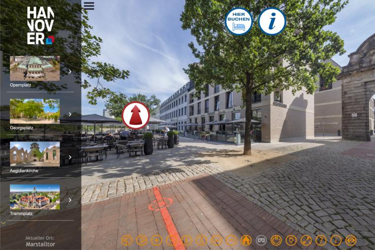 Neu: Der Rote Faden – 360° Tour