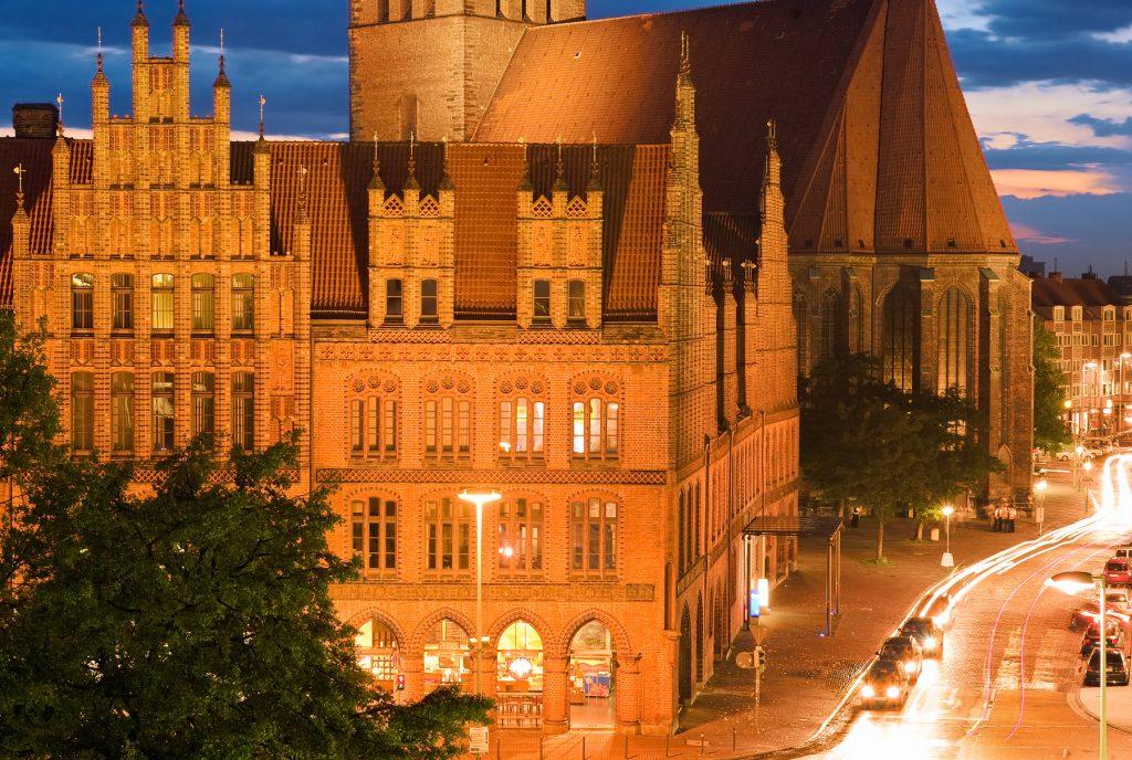 Altstadt Hannover beleuchtet