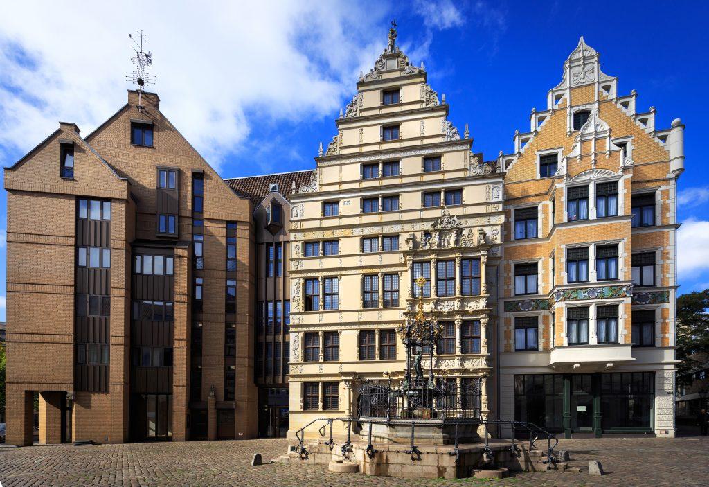 Gebäude in der Altstadt